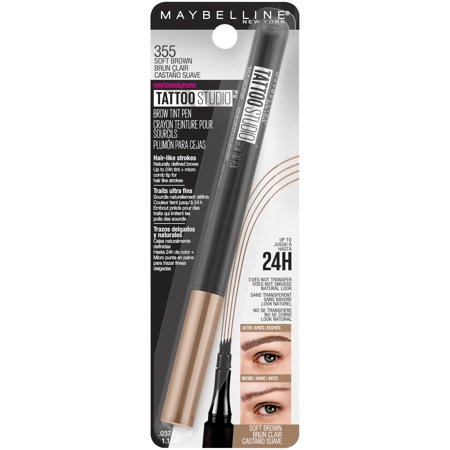 Best Maybelline TattooStudio Brow Tint Pen, Soft Brown deal