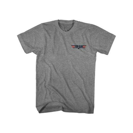 Top Gun Goose Graphite Heather Adult T-Shirt (Graphite Gun)