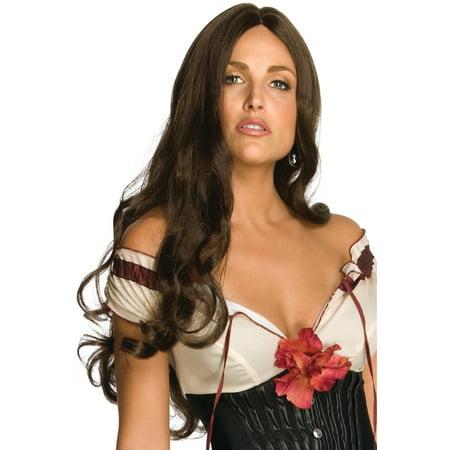 Women's Jonah Hex Lilah Megan Fox Costume Deluxe Wig - Fix Halloween Wigs