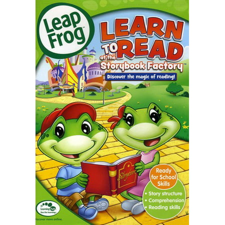 Learn to Read at the Storybook Factory (DVD) - image 1 de 1