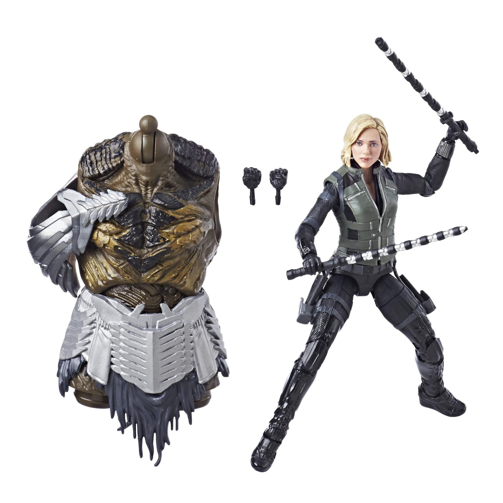 Avengers marvel legends series 6-inch black widow