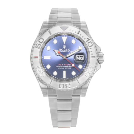 Rolex Yacht-Master 116622 bl Steel Platinum Automatic Mens Watch