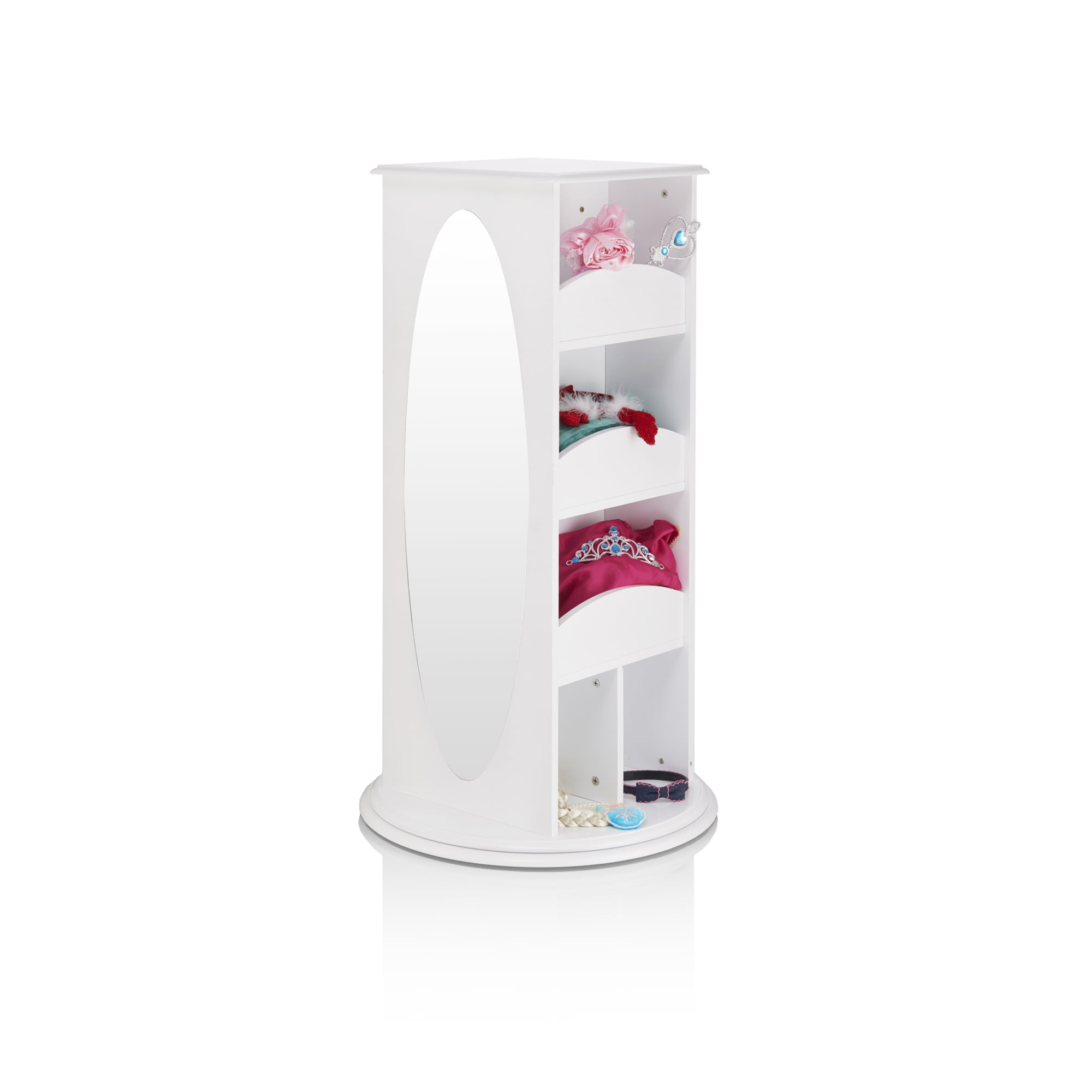 Rotating Dress-Up Storage Center White by Guidecraft