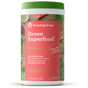 Amazing Grass Energy Green Superfood Powder, Watermelon, 60 Servings
