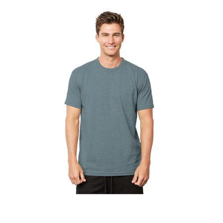 A Product of Next Level Unisex Eco Heavyweight T-Shirt - HEATHER PACIFIC - XL [Saving and Discount on bulk, Code Christo]