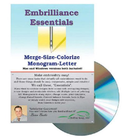 Embrilliance Essential Embroidery Software Embroidery Fonts Software