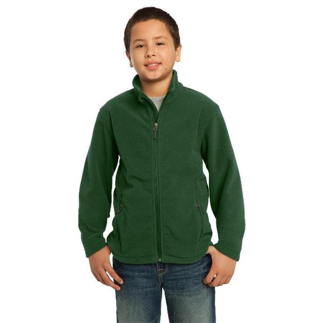 Port Authority® Youth Value Fleece Jacket. Y217 Forest Green L - image 1 de 1