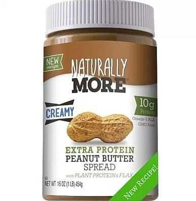 Naturally More: Peanut Butter Naturally More, 16 Oz