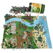 Tiny Troopers Big Battle Drum | 260-piece Army Men, Vehicles, and Play Mat