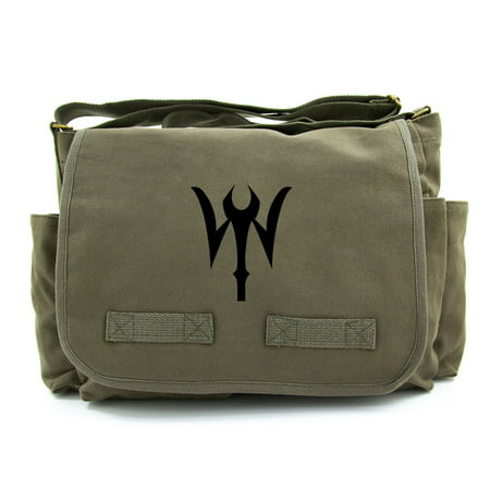 Doctor Strange Symbol Heavyweight Canvas Messenger Shoulder