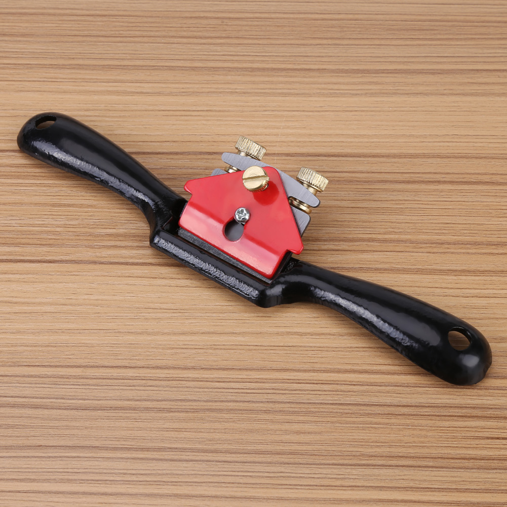 Ashata 9 Inch Adjustment Woodworking Cutting Edge Plane Spokeshave Hand Trimming Tool With Screw,Plane Spokeshave, Adjustment Plane Spokeshave