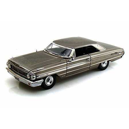 1964 Ford Owners Manual - 1964 Ford Galaxie 500, Black Chrome - Greenlight Men In Black 3, 12860 - 1/18 Scale Diecast Model Toy Car