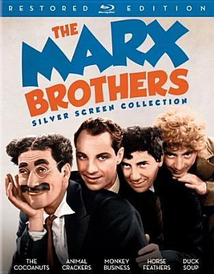 The Marx Brothers Silver Screen Collection (Blu-ray) by Universal Home Video