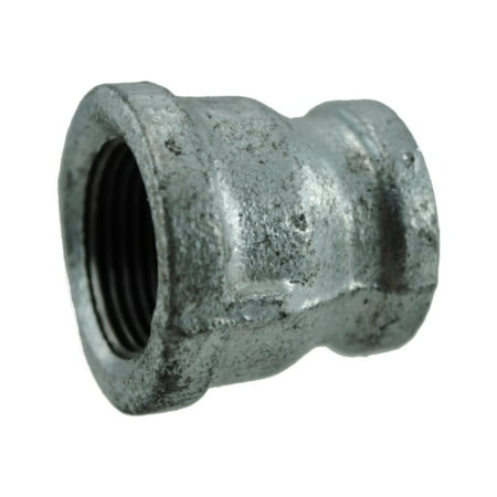 "3/4"" Galvanized Pipe Reducing Coupling"