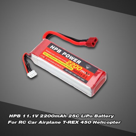 Hpb 11 1V 2200Mah 25C Max 35C 3S T Plug Li Po Battery For Rc Car Airplane T Rex 450 Helicopter Part