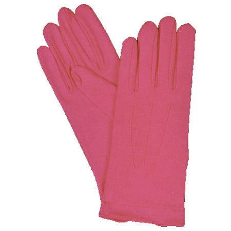 Morris Costumes Youth Nylon Gloves Snap Hot Pink Halloween Accessory - Homemade Halloween Costume Ideas Hot Air Balloon
