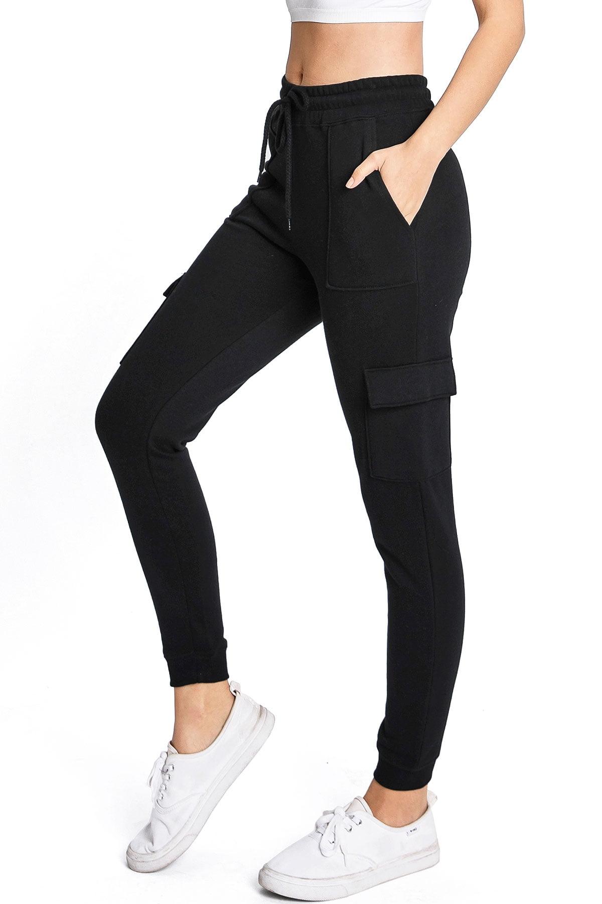 REFLEX Women/'s Junior Soft Gray Jogger Pants Lace up Ankle