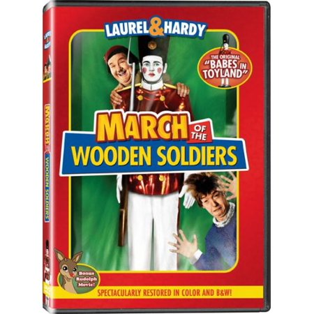 March of the Wooden Soldiers (DVD) - March Of The Toy Soldiers