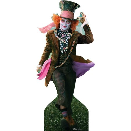 Mad Hatter Johnny (Mad Hatter - Johnny Depp Cardboard)