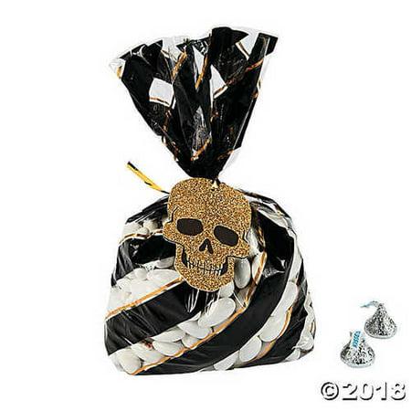 Printable Halloween Bag Tags (Glitz-O-Ween Cellophane Bags with)