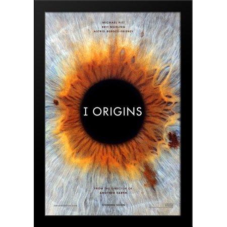 I, Origins 28x38 Large Black Wood Framed Movie Poster Art Print