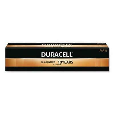 Duracell AAA Batteries w/Duralock Power Preserve, - Duracell Power Gauge