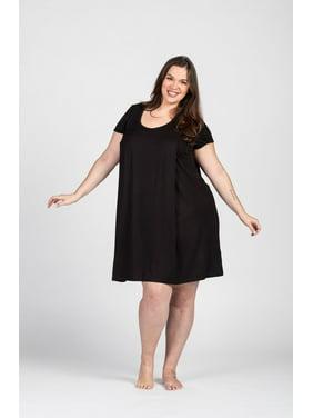 Maternity Nursing/ Breastfeeding Nightgown Dress Plus Size