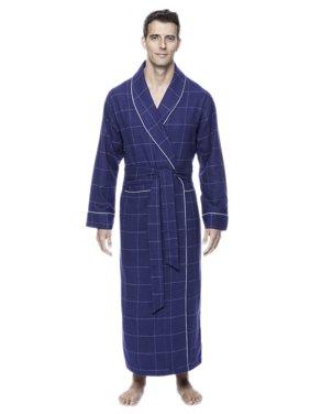 0269aa5d0a Product Image Noble Mount Mens Premium 100% Cotton Flannel Long Robe