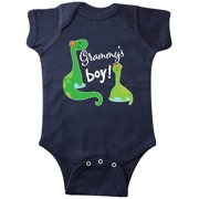 Grammy Boy Grandson Gift Dinosaur Infant Creeper