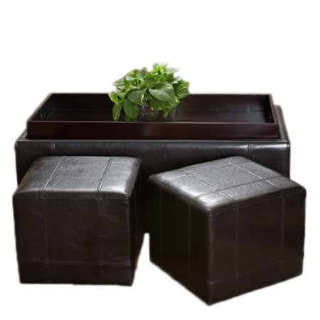 Outstanding Tray Top Nested Ottomans Set Of 3 Alphanode Cool Chair Designs And Ideas Alphanodeonline
