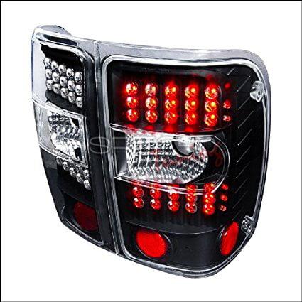 Spec D Tuning Ford Ranger 2001 2002 2003 2004 2005 Led Tail Lights Chrome