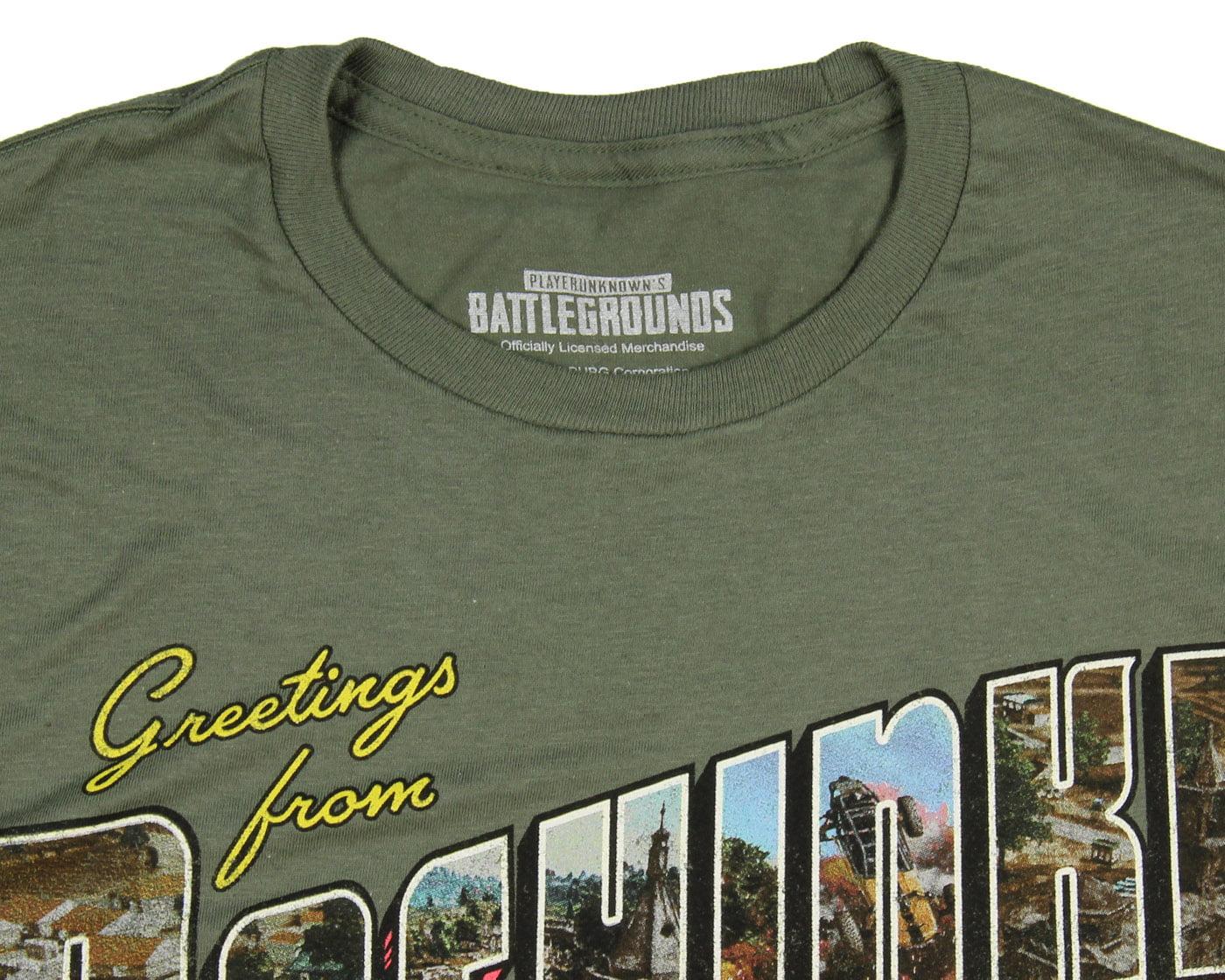 Mens Skirt PLAYERUNKNOWN/'S Battlegrounds T-Shirt// PUBG T Shirt// Pochinki T-shirt