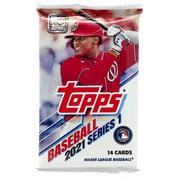 MLB Topps 2021 Series 1 Baseball Trading Card Pack