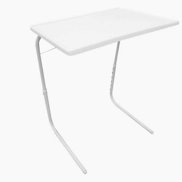 iMounTEK  Foldable Tray Table Portable Sofa TV Tray 6 Heights 3 Angles Laptop Desk Adjustable Eating Dinner Coffee for Bed Dorm Home