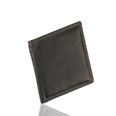 Men Leather Card Cash Receipt Holder Organizer Bifold Wallet Purse (Receipt Organizer Wallet)