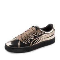 Product Image Puma Womens Basket XL Lace Metal Gold 364536-03 b69de9e8c