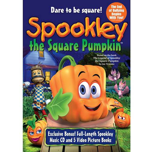 Spookley The Square Pumpkin (DVD + CD + 5 Picture Books)