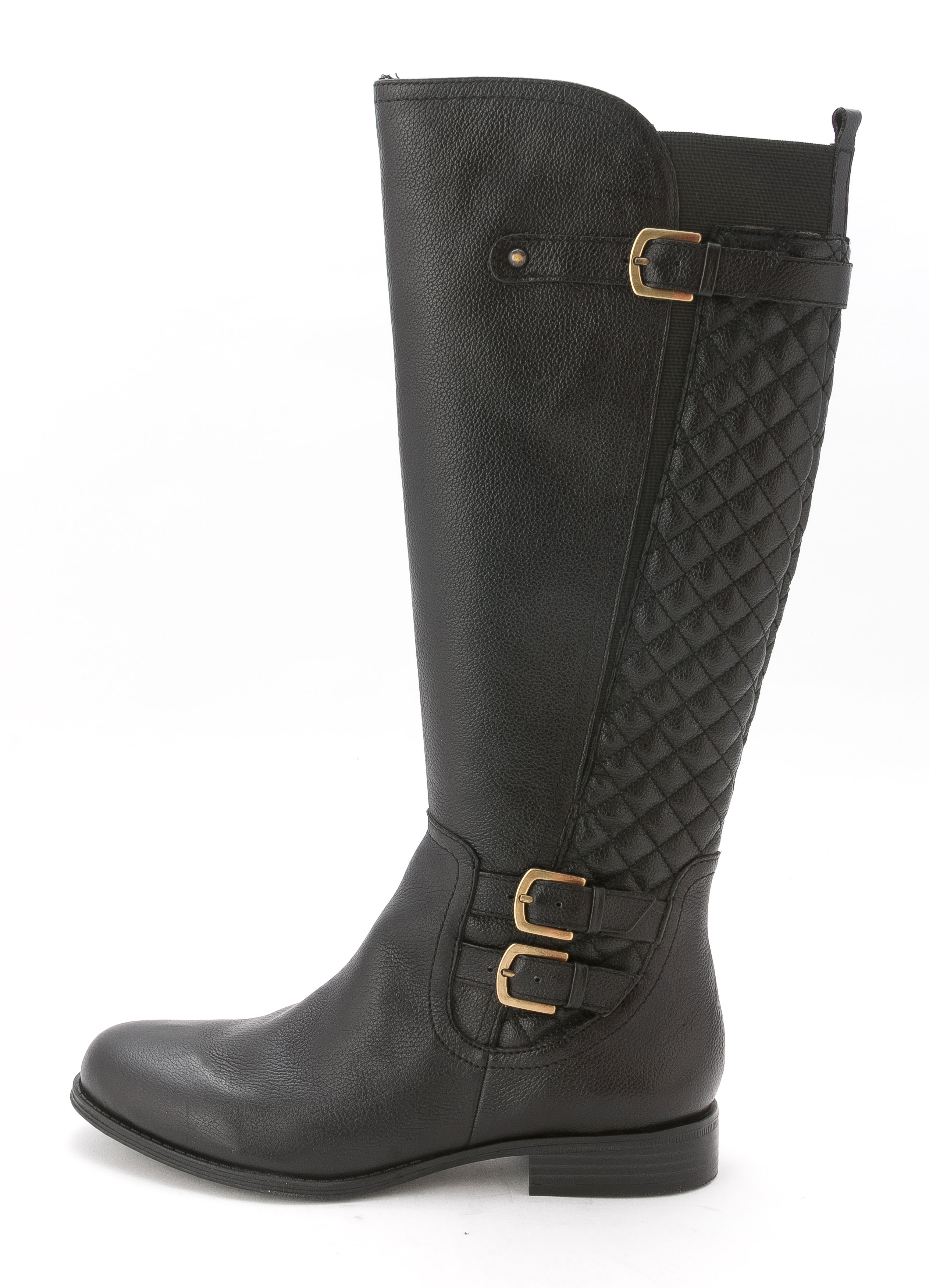 Naturalizer Women's Jamon Round Toe Leather Knee High Boot by Naturalizer