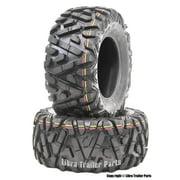 Best Atv Tires - 2 New WANDA ATV Tires 25X10-12 6PR P350 Review