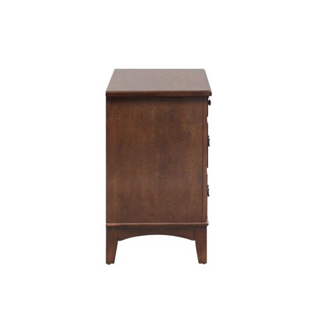 Liberty Furniture Chelsea Square Student Desk in Burnished Tobacco - image 7 of 10