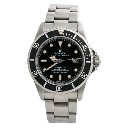 Pre-Owned Rolex Sea-dweller 16660 Steel 40mm  Watch (Certified Authentic & -
