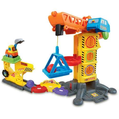 VTech Go! Go! Smart Wheels Learning Zone Construction Site