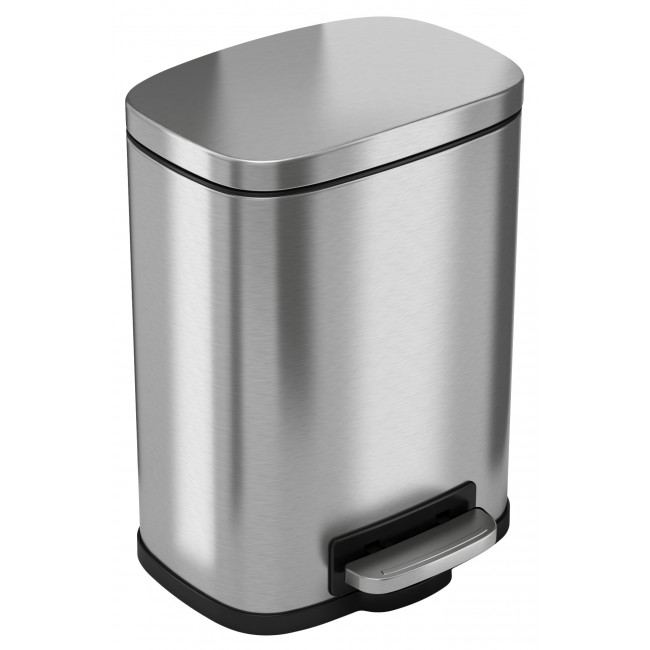 Itouchless Softstep 5 Liter Stainless Steel Step Trash Can 132