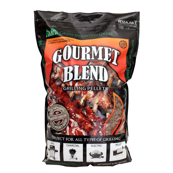 Green Mountain Grill Premium Gourmet Blend Pellets