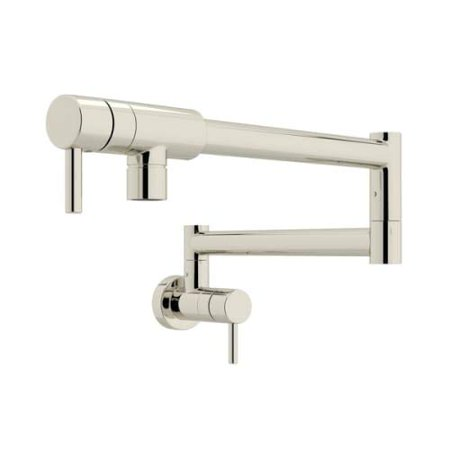Rohl  QL66L-2  Pot Filler  Modern  Faucet  Double Handle  ;Polished Nickel