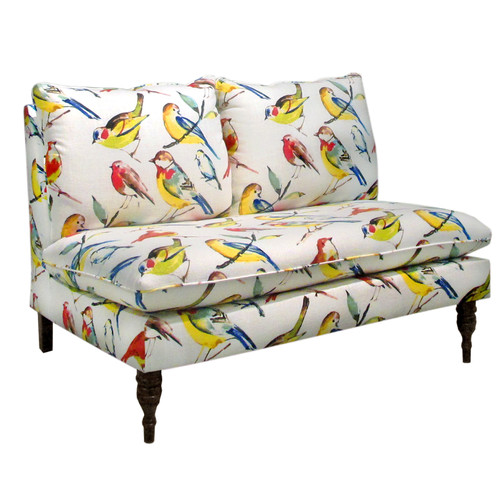 Skyline Furniture Birdwatcher Settee Loveseat