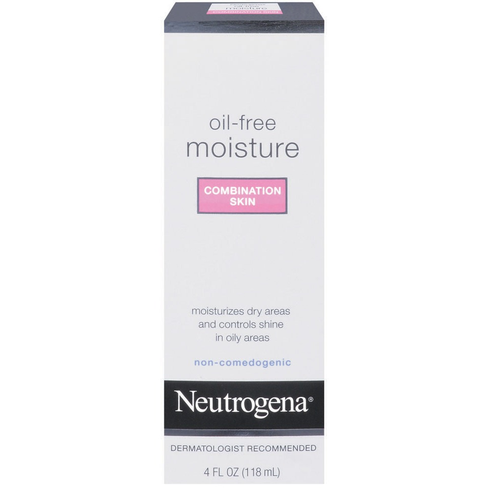 Neutrogena Oil-Free Moisture, Combination Skin, 4 Fl. Oz