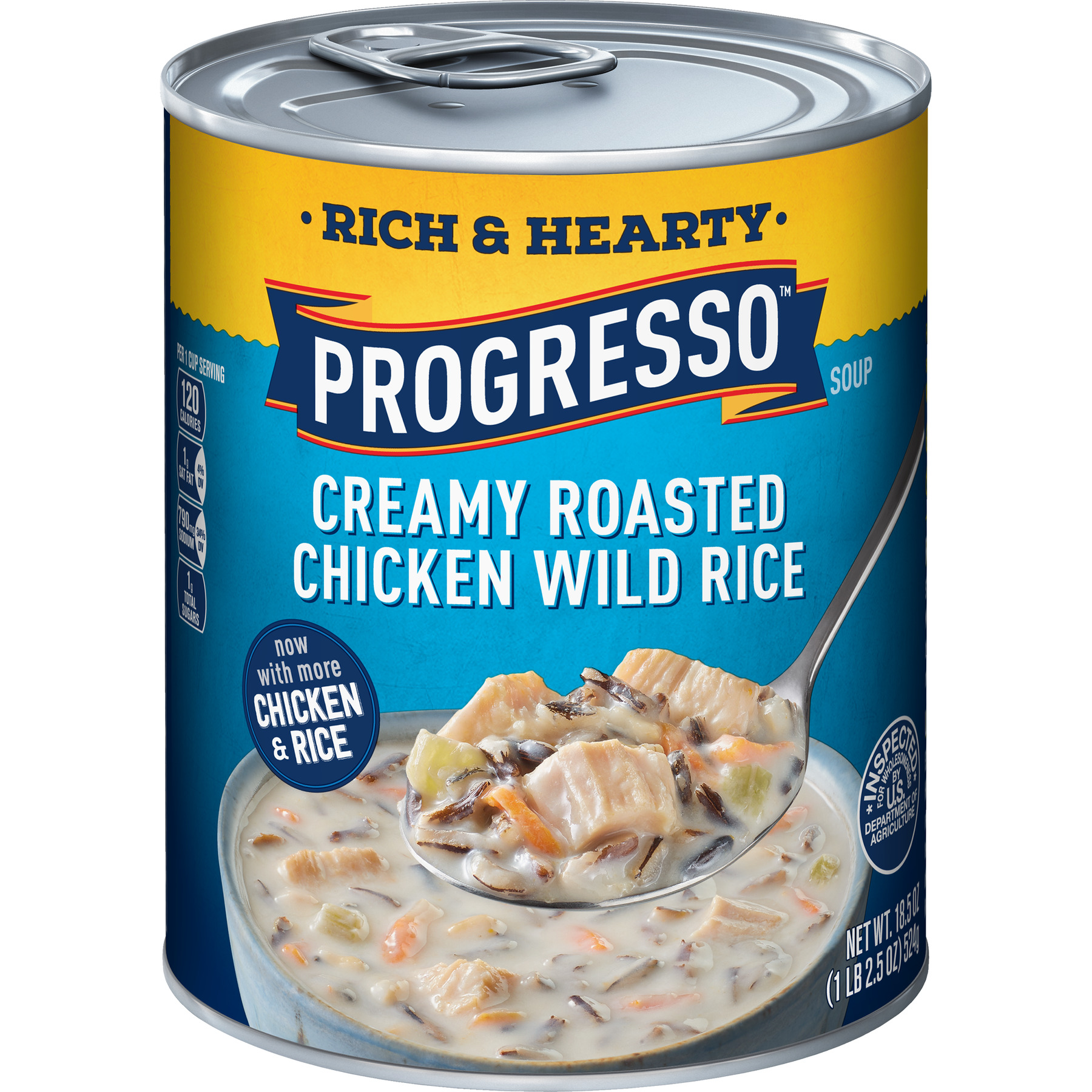 Progresso Rich & Hearty Roasted Chicken Wild Rice Soup