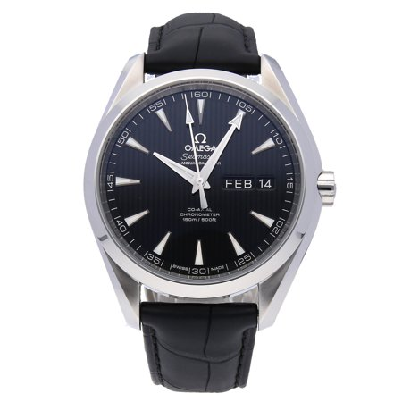 Pre-Owned Omega Watch Seamaster Aqua Terra 150m Annual Calendar 231.13.43.22.01.002