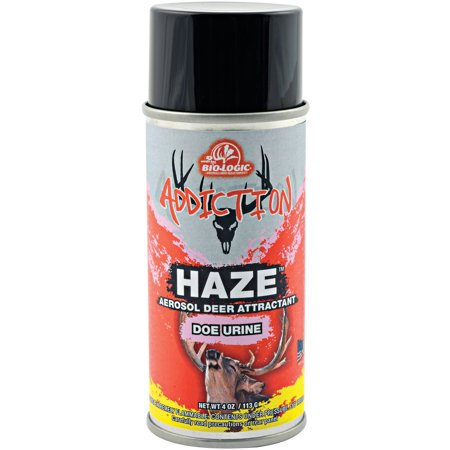 Mossy Oak Biologic Addiction Haze 4 Ounce Aerosol Doe Urine